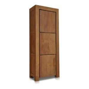 Teak kast Bogor dicht 3 deurs