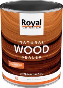 Natural woodsealer impregneer teakhout binnen liter verpakking