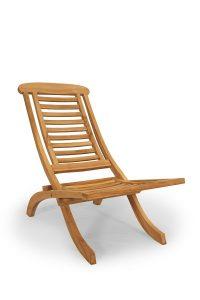 Teak Lazy Chair inklapbaar