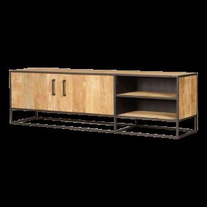 Metal teak tv meubel Banjar 170 cm