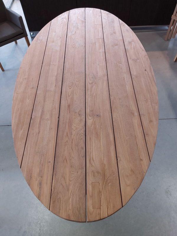 Ovale Teak Tuintafel Robuust 240 * 120 cm
