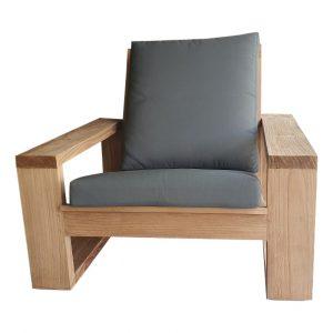 Dundey Teak Loungefauteuil inclusief kussens