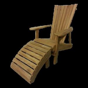 Teak Adirondack Bear Chair set van 2
