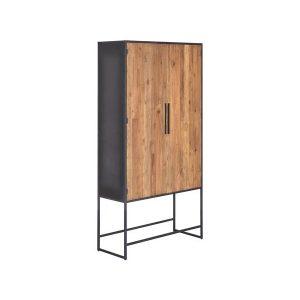 Felino Teak Cabinet 2 deurs